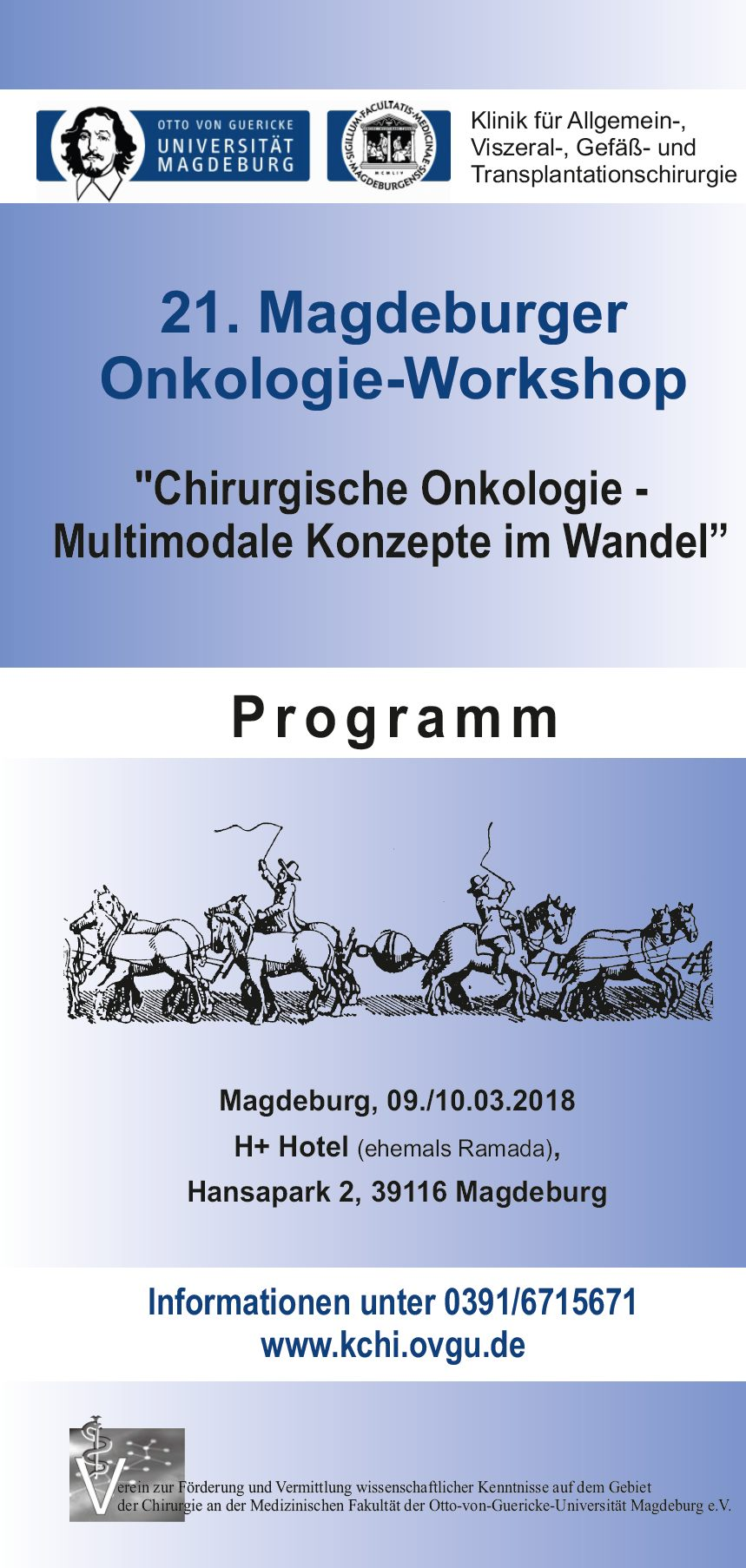 Onkologie-Workshop 2018